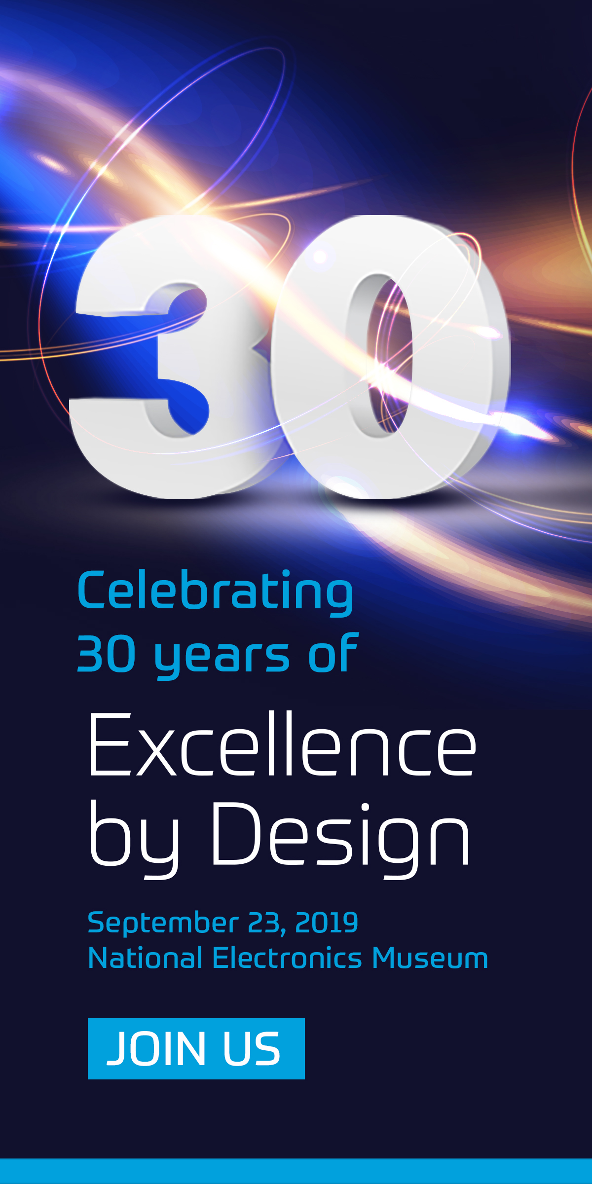 Join us to celebrate 30 years.