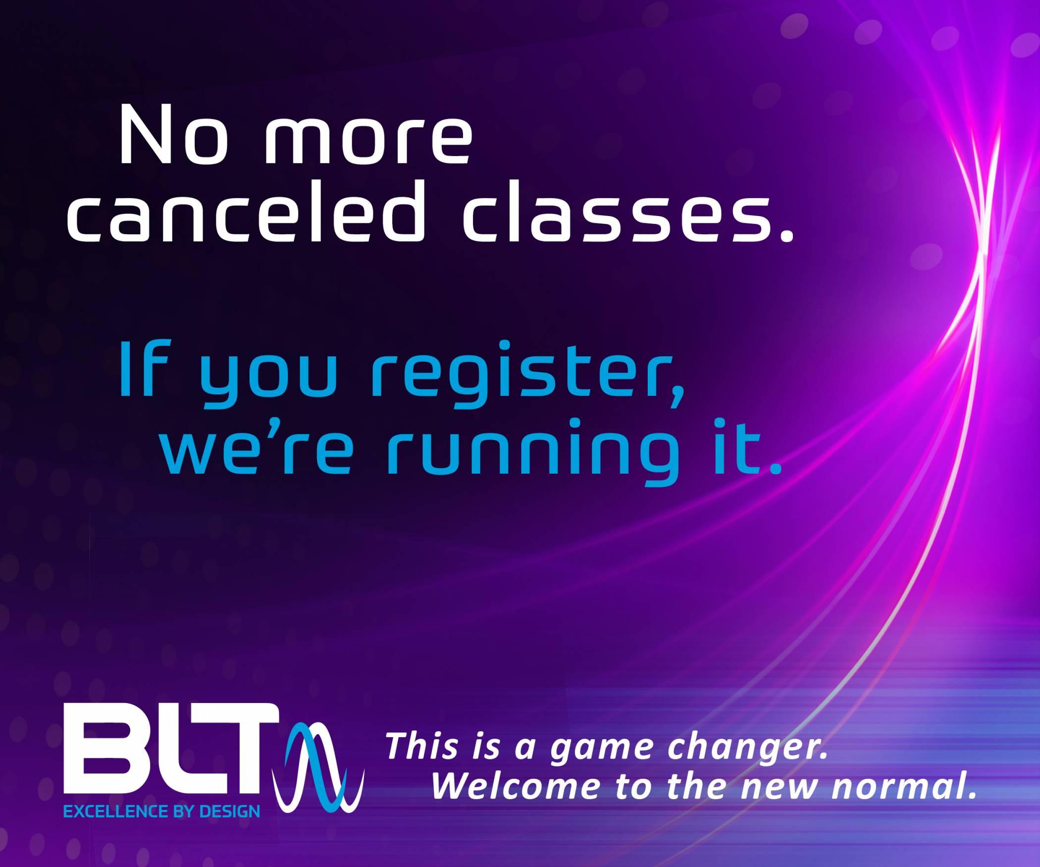 No more canceled classes